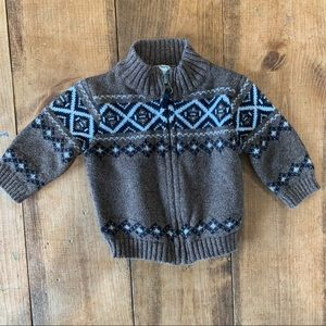 Brown Carters Sweater Size 3 Months